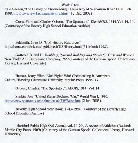 cheerleading superlatives  The Social History of Beverly High School Cheerleading