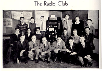 1937-1938 Radio Club, Beverly High School