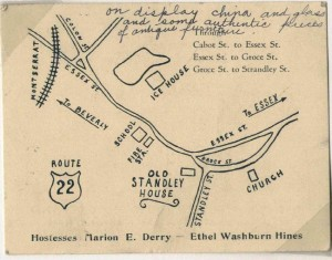 Old Map of Centerville
