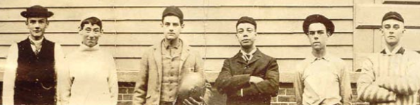 Pre-1900 Beverly High School Football Team
