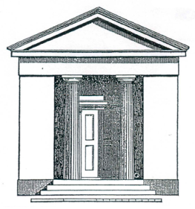 Figure 1: Greek Revival School House
