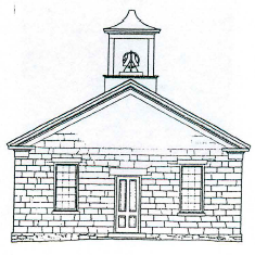 Figure 13. Stone School (c. 1850) near East Troy, Wis.