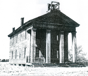 Figure 14. Greek-Revival Style School, (c. 1840), Pike County, Ala.