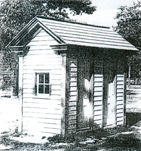 Figure 15. Double Outhouse, Smithville, N.J.