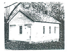 Figure 7. Evans School (c. 1820), Gloucester, R.I.