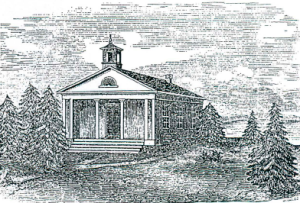Figure 8. Greek Revival District School House, Barrington, Rhode Island (Thomas A Taft, architect)
