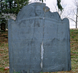 Gravestone of 'Primus' in Andover, MA