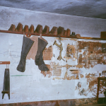 Interior of Ten Footer, Essex County, MA